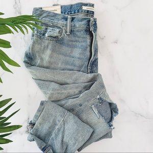 ABERCROMBIE & FITCH • 100% cotton denim jeans
